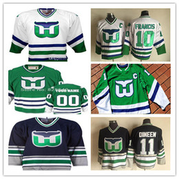 0fcd182c Hartford wHalers blue jersey online shopping - Custom Vintage Hartford  Whalers Hockey Jerseys Any Name Any