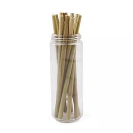 Бамбуковые соломинки бамбук соломы многоразовые Эко дружественных ручной работы природных соломинки для питья бесплатно DHL 0 792