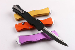 Discount camp knives swords - glory IV 4 Sword mark 9CR18MOV single action tactical self defense folding edc knife automatic knife automatic knives xm