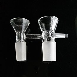 China Standard Glass Bowl Hookah Bowl Glass Adapter 14mm 18mm Male of Glass Water Pipe Bong Oil Rig Free Shipping supplier standard water pipe suppliers