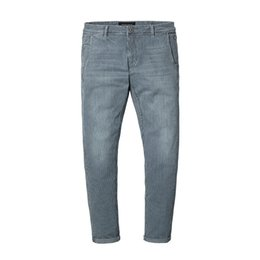 China New Spring Spray Painting Striped Jeans Men Skinny Thin Fashion Slim Fit Denim Trousers Hot Fashion supplier light blue spray suppliers