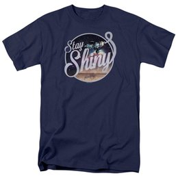$enCountryForm.capitalKeyWord Canada - Firefly Stay Shiny Licensed Adult T Shirt Novelty Cool Tops Men Short Sleeve T shirt Newest 2018 Men'S Fashion