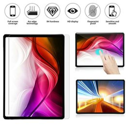 "Ipad Transparent Screen Australia - Newest For Apple iPad Pro 11"" Tempered Glass Screen Protector Film For iPad Pro 12.9 Clear Transparent 2.5D 9H Protective Guard Pad Glass"
