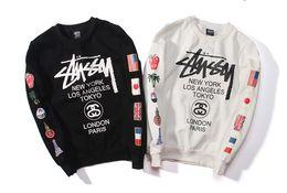 $enCountryForm.capitalKeyWord Australia - New 2017 Designs hoodies ST World Tour Paint Colorful Splash-ink Unisex Sweats Tops Couples Hoodies Fleece Bird OVO Drake D79