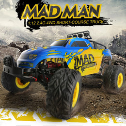 China JJRC Q40 1:12 2.4G 4WD Short-course Truck Rock Crawler Off Road RC Car Mad Man Remote Control Car suppliers