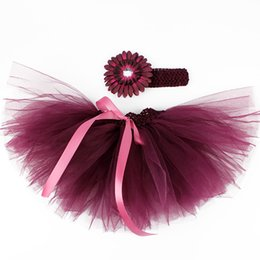 Wholesale Summer Baby Girl Skirt Kids Princess Tulle Cake Skirts Children Party Ribbon Skirt Girls Dance Pettiskirt
