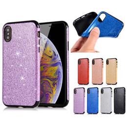 S6 Bling Cases Australia - Bling Glitter Slim Soft TPU Case For iPhone X XR XS Max 8 7 6 6S Plus 5 5S Samsung S6 S7 Edge S8 S9 Plus Note 9 J3 J5 J7 Pro A3 A5 A7 2017