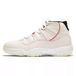 da3fd438310 2019 Concord High 45 11 XI 11s Cap and Gown PRM Heiress Gym Red Chicago Platinum  Tint Space Jams Men Basketball Shoes sports Sneakers