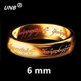 $enCountryForm.capitalKeyWord Australia - 2017 One Gold Silver Black Plated the Lord of Rings Women Men Finger Wedding Brand Fashion Jewelry Accessory Wholesale Drop Ship