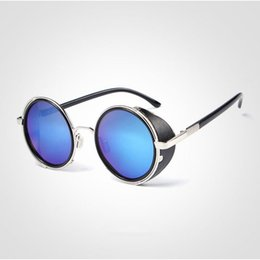 black round sunglasses for women NZ -