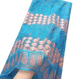 59c5a8d6a9 Tessuti di perline francesi nigeriani con perline 2018 Tessuto blu royal in  pizzo blu svizzero 2017 Tessuto in pizzo blu cielo di alta qualità
