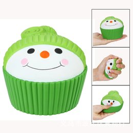 Toy Hats NZ - Squishy Hat tart toy 11.5cm Kawaii Squeeze Animal Cute Soft Slow Rising Squeeze Break Kids Toys Relieve Anxiety Fun Gift