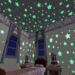 $enCountryForm.capitalKeyWord NZ - Guest Room Bedroom Romance Colour Fluorescent Wallpaper Luminous Stars Creative Children Room Decorating