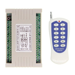 433mhz transmitter receiver module online shopping - Universal DC V V A Relay CH CH Wireless RF Remote Control Switch Transmitter Receiver Module MHz