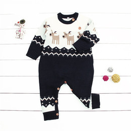 67492110ca5 Children s Winter Overalls For Newborn Baby Boys Girls Christmas Costumes  Animal Style Infant Kids Rompers Jumpsuits With Deer