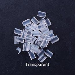 Adhesives Tools & Accessories Free Shipping 100pcs Black Keratin Glue Nail Tip Keratin U-shaped Fusion Chips Glue Nail Keratin For Prebonded Hair Extension