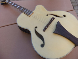 New body acoustic guitars online shopping - New Arrival Acoustic Electric Guitar In Natural Back Matte Natural