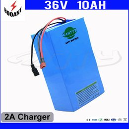 Motor Bicycles Australia - 850W 36V Electric Bicycle Battery For Bafang Motor Lithium ion Battery 36V With 18650 Cell Built-in 30A BMS 2A Charger