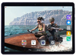 Gift Gb Canada - 4G 2018 more new 10 inch Android 7.0 Tablet PC 4GB ram 64 GB ROM core octa 8 nuclei 5.0MP 1920 * 1200 IPS dual camera phone tablets + gift