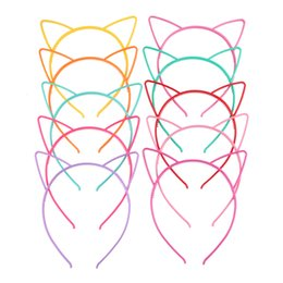 Chinese  Baby Party Props Sexy Black Cat Ears Girl Headwear Lady Stylish Headband Hair Hoop Accessories For Women Hairband Kids Head Band manufacturers