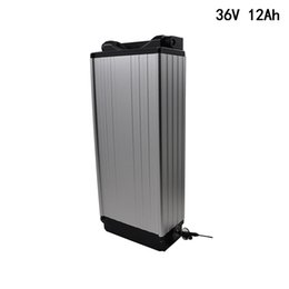 China 36V E-bike Lithium Battery 12Ah pack for 18650 cell Electric Bicycle battery for 450W 500W 850W motor +2A Charger Free Shipping supplier e bicycle 36v suppliers