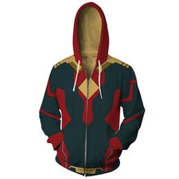 Cool Sweatshirt Jackets NZ - Fashion Marvel Avengers Infinity War Thor Loki Cool Jacket Sweatshirt Casual Hoodie Coat Sport Clothes Costume Cosplay men