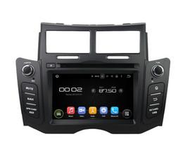 Venta al por mayor de Octa Core 4GB RAM Android 8.0 Coche DVD Navegación GPS Reproductor multimedia estéreo para TOYOTA Yaris 2005 2006 2007 2008 2009 2010 2011 Radio