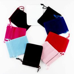 $enCountryForm.capitalKeyWord Australia - Wholesale 100pcs 10*12cm Mixed Nice Chinese Fabric Cloth Gift Bags Flannelette Suede Jewlery Velvet Packing Gift Pouch Jewelry