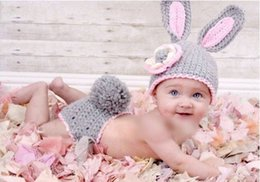 Props Hats Australia - Hot Sale Hand Woven Character Photography Clothes Newborn Baby Pictures Baby Hat Crochet Wild Children Photo Props Free Shipping