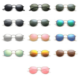 5eecc6af9795 Sunglasses Names Canada - 2018 Sunglasses Round Fashion Classic Retro Brand  Name Glasses Men s And Women s