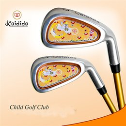 Wholesale Golf Putter Club Original Brand Kaidida Children Practice Carbon Iron Golf Clubs