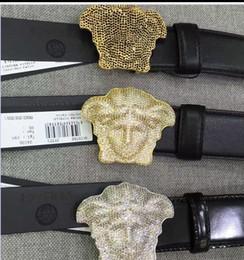 Black Rose Car Australia - 5A+ Crystal 3D Medusa Belt Black Rose Quality Togo Epsom Leather Bag Black Lambskin BELT CALFSKIN MENS BELT