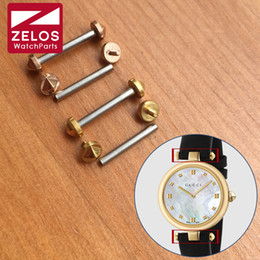 watches roses NZ - watch screw tube for GC Diamantissima 32mm watch aftermarket replacement part(rose gold gold)