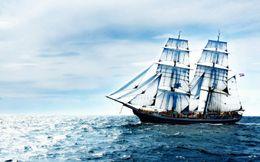 $enCountryForm.capitalKeyWord NZ - Sailing Yacht on the High Seas Ocean Ship Home Decor Art Silk Poster 24x36inch 24x43inch