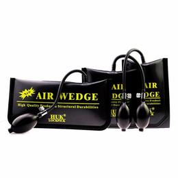 $enCountryForm.capitalKeyWord Australia - Full Set HUK locksmith New Heavy duty Air Wedge Air Bag for Car Auto Door Enter Tools Free Shipping