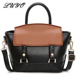 7c3462c4c06f wholesale 2018 Ins Hot Trapeze Pu Leather Girl Messenger Luxury Handbags  Women Shoulder Bags Female Designer Tote Bag Small Luxe Sac Sale