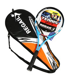$enCountryForm.capitalKeyWord NZ - Tennis Racket Carbon Fiber Aluminium Tennis Racket Racquets Equipped with Bag Grip For Training
