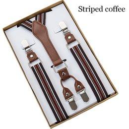 Dot Printed Mens Suspenders High Quality 4 Clips Suspensorios Adjustable Elastic Braces Plus Size Men Women Party Wear Bd059 Excellent Quality Men's Suspenders