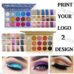 Wholesale snowflake sparkle eyeshadow no logo eye shadow palette color two package choice popupar whole seller item accept your logo print
