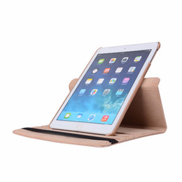 Plastic Stand For Tablets NZ - PU Leather Case for iPad Pro 10.5ipad Air 2 iPad 2017 9.7 Tablet 360 Rotating Stand Protective Cover for iPad