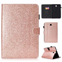 series skins 2020 - Leather Case For Samsung Galaxy Tab A 8.0 T350 Cover Fundas Tablet Fashion Loose powder series Skin Flip Stand Shell che