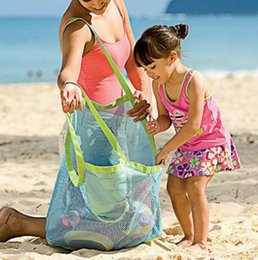 Promotional Nylon Bag Australia - Baby Children Beach Mesh Bags Children Beach Toys Clothing Towel Bags Baby Toys Series Diapers Children's Gifts
