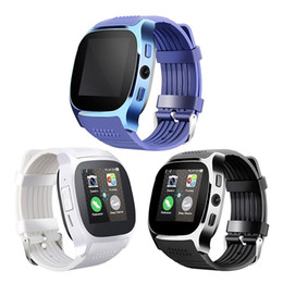 t8 gps tracker UK - T8 Bluetooth Smartwatch Support SIM TF Card With 2.0MP HD Camera Smart Watch For iOS Android Smartphone
