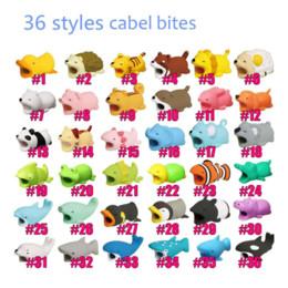 mode cartoon spielzeug design handy ladekabel protector usb kabel mini kopf halter stoßfest kabel tier beißt für telefonkabel