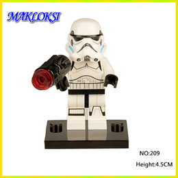 China Christmas Gifts Star Warrior Building Blocks Models DIY Hobbies Classic Action Figures toys for Children 30pcs lot suppliers