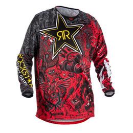 2018 New Red Black Yellow Moto GP Mountain Bike Motocross Jersey BMX DH  Long MTB T-Shirt Clothes Sportswear Downhill MX MTB 454e96176