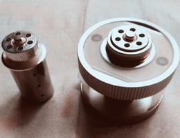 Mini Shisha E Hose Australia - Replacement atomizer tank for square e head ehead e-head,e hose mini ehose e shisha square cartridge refillable ehead ehorse coils atomizer