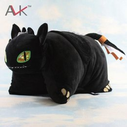 $enCountryForm.capitalKeyWord NZ - How to Train Your Dragon 2 Toothless Night Fury Plush Toy Doll soft Stuffed plush pillow cute Birthday Christmas Gifts For Kids