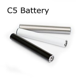 cigarette automatic battery 2019 - Vape Battery 510 Thread Batteries Automatic Pre heat Battery 350mAh for TH205 92A3 Cartridges Glass Tank Bottom LED Ligh