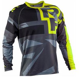 China 2017 FURY RACE Moto MX Mountain Bike Motocross Jersey  T Shirt Clothes Long Sleeve MTB Breathable Quick Drying Jesey cheap mx clothes suppliers